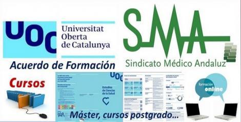 SMA y Universitat Oberta de Catalunya (UOC) firman un convenio de colaboración.