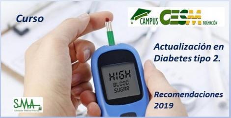 Curso Actualización en Diabetes Tipo 2 - Recomendaciones 2019.