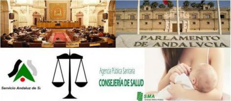 El parlamento andaluz debate hoy la igualdad de permisos de lactancia en el SAS.