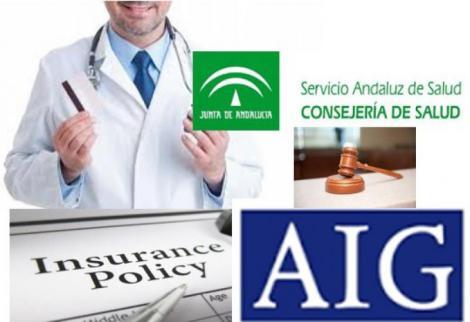 La americana AIG cubre la responsabilidad de los médicos del SAS.
