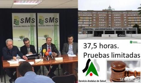 El Sindicato Médico contra la  injustificable aplicación de la jornada de 37,5 horas y el