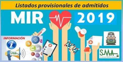 Primera lista de admitidos al examen MIR 2019: 14.234 candidatos, 990 más.