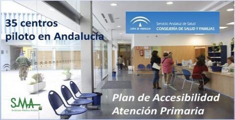 Dice la prensa que 35 centros de salud de Andalucía prueban el plan para desatascar la atención primaria.