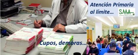 Radiografía de los médicos de Primaria en España: al límite y desbordados.
