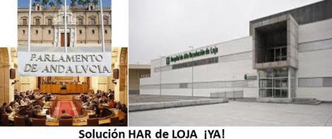 HOSPITAL DE LOJA: El Sindicato Médico Andaluz informa a los portavoces de la Comisión de Salud del Parlamento Andaluz.