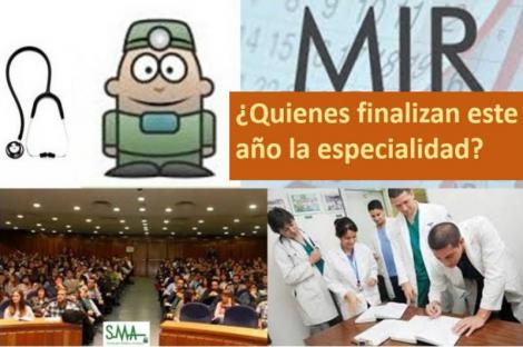 La mitad de los MIR que terminan su residencia lo hace en Madrid, Andalucía y Cataluña.