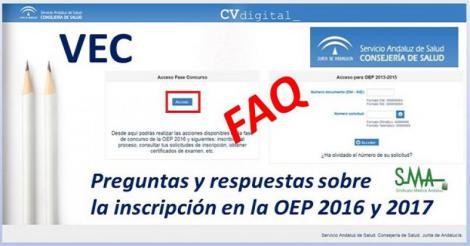 Preguntas y respuestas sobre la inscripción en la OEP 2016 y 2017.