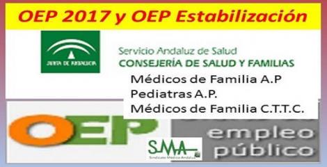 Listados provisionales de admitidos y excluidos de la OEP de Estabilización de Médico/a Familia y Pediatras AP y corrección de errores sobre MF CTTC.