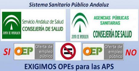 """Suma y sigue... La Junta de Andalucía se olvida """"otra vez más"""" de las Agencias Públicas Sanitarias."""