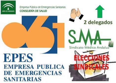 El Sindicato Médico obtiene el máximo número de votos en las elecciones de EPES-061 en Sevilla.