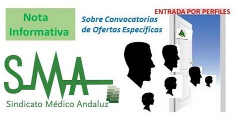 Comunicado del SMA sobre las propuestas de ofertas de puestos específicos (perfiles) en el contexto de las tomas de posesión de los traslados y la OEP.