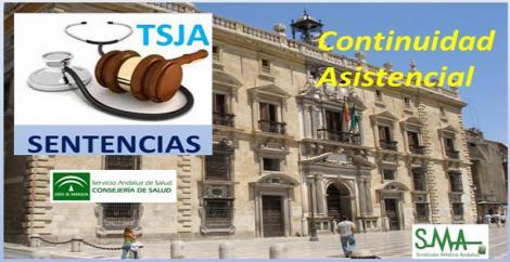La Continuidad Asistencial no es un derecho del personal. Sentencia de la Sala de Casación del TSJA.