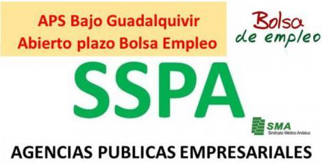 Abierto el plazo para aporte de méritos en Bolsa de APS Bajo Guadalquivir Médicos de Urgencias.