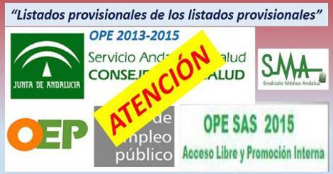 OPE 2013-2015. Nuevo requerimiento de documentación en algunas especialidades.