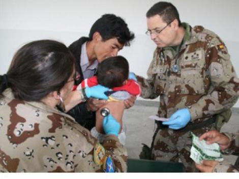 El Ministerio de Defensa oferta 25 plazas de médicos para el Cuerpo Militar de Sanidad