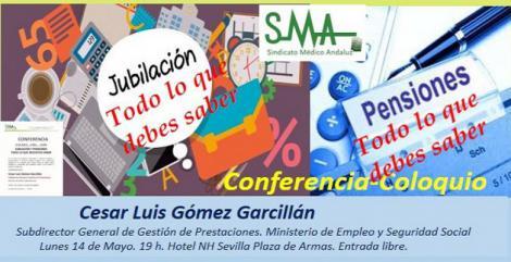 Conferencia-Coloquio sobre jubilación y pensiones. Todo lo que necesitas saber.