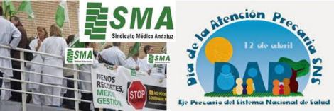 Médicos y enfermeros critican la precariedad de la atención primaria.