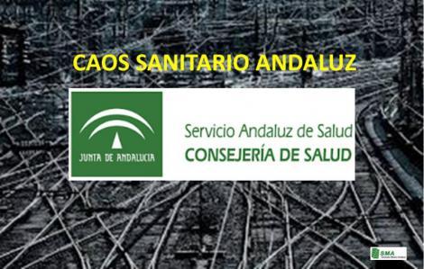 Caos Sanitario en Andalucía.