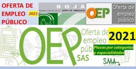 Publicado en el Boja la Oferta de Empleo Público del SAS para el año 2021.
