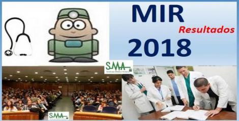 Publicados los resultados definitivos del MIR 2018.