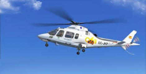La Consejería de Salud suprime el helicóptero del 061 en la provincia de Cádiz