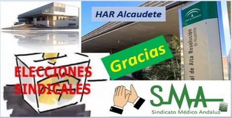 Elecciones en el  Hospital de Alta Resolución de  Alcaudete.