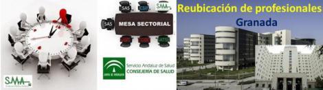 Acuerdo entre Junta y sindicatos para reubicar al personal de los hospitales de Granada.