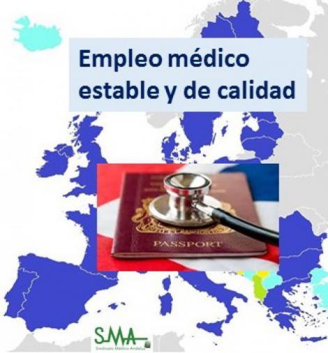 Las ofertas de empleo estable para los médicos españoles llegan del extranjero.