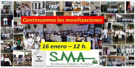 El Sindicato Médico Andaluz convoca, este miércoles, nuevos paros en defensa de la calidad asistencial en Primaria.