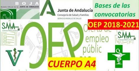 Publicadas en el Boja las bases generales de las convocatorias que han de regir los procesos selectivos de OEP 2018-2021 del Cuerpo A4, especialidades, Farmacia y Veterinaria, libre y promoción interna.