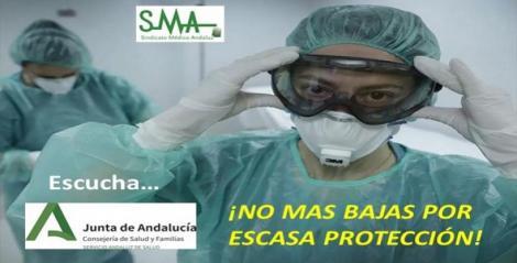 ¡NO MAS BAJAS POR ESCASA PROTECCIÓN!