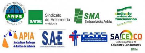 Los sindicatos profesionales exigen a la Junta de Andalucía recuperar derechos y salarios.