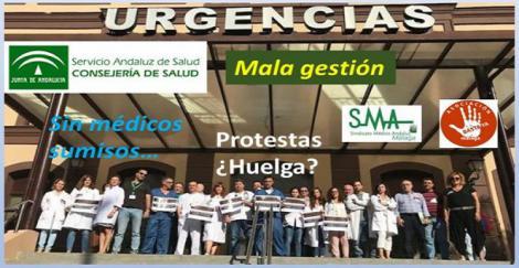 Málaga: Los médicos se rebelan contra el SAS por la falta de sustituciones.