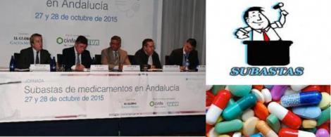 Profesionales y pacientes denuncian los desabastecimientos y la inequidad de las subastas de medicamentos en Andalucía.