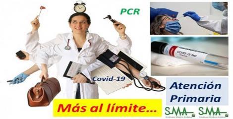 Atención primaria y PCR, base de la estrategia de detección precoz de covid-19.