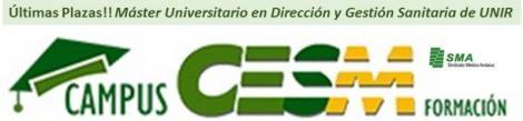 ¡¡ULTIMAS PLAZAS !! Máster Oficial Universitario en Dirección y Gestión Sanitaria con la Universidad Internacional de la Rioja (UNIR)