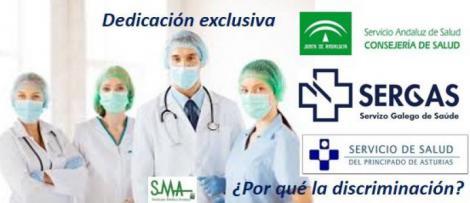 Frente común contra el plus de dedicación exclusiva para que el médico no trabaje en la privada.