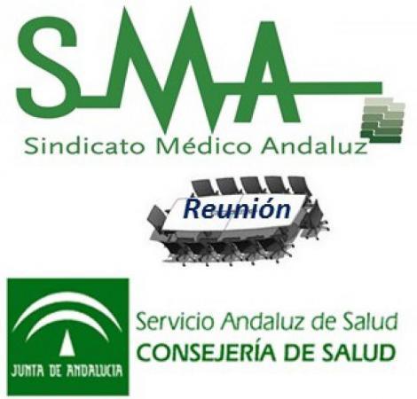 Reunión del Comité Ejecutivo del SMA con la Consejera de Salud.