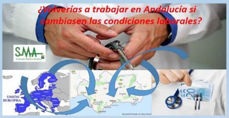 Casi el 80% de médicos que dejaron Málaga volverían con mejoras de condiciones laborales.