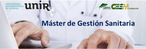 Sesión informativa sobre el Máster de Gestión Sanitaria organizado por UNIR y CampusCESM.