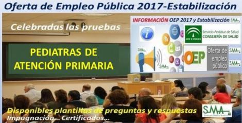 Celebrado ayer domingo 1 de diciembre el examen de la OEP de Estabilización para Pediatras de Atención Primaria.