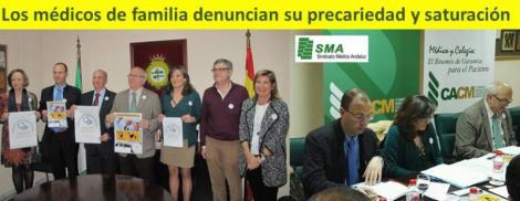 Repercusión de la rueda de prensa del Foro de Médicos de AP en Andalucía