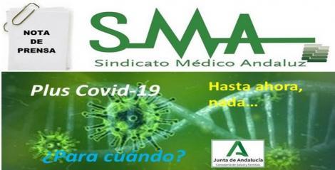 El Sindicato Médico Andaluz aclara que la Junta no ha compensado a los facultativos por su esfuerzo en la  pandemia.
