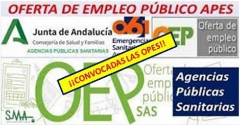 Convocados los concursos-oposición en las APES