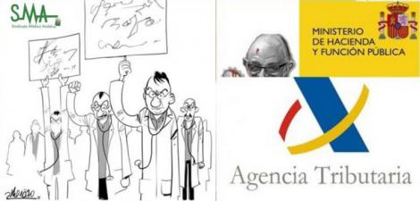 Amenaza de huelga médica si Hacienda obliga a tributar por ir a congresos.