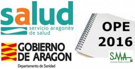 Aragón aprueba la OPE de 1.483 plazas.