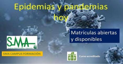Convocatoria del curso de formación acreditado: Epidemias y pandemias hoy.