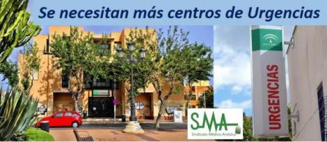 El Sindicato Médico pide más puntos de Urgencias en Almería.
