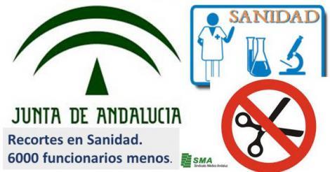 Recortes!! La Junta reconoce que la sanidad andaluza ha perdido 6.000 funcionarios.