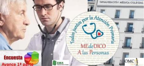Cupos excesivos y empleo temporal, entre las características de los médicos de Atención Primaria.